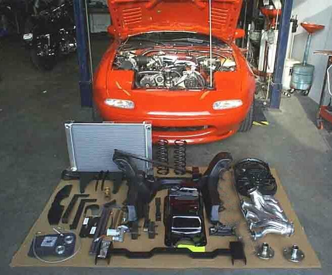 Monster Miata V8 Swap Kits Mazda Miataroadster Stay Tuned With