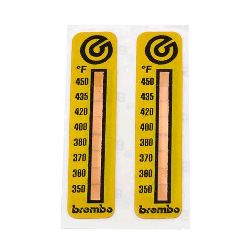 Brembo Temperature Stickers Universal Automotivedna Weathertech