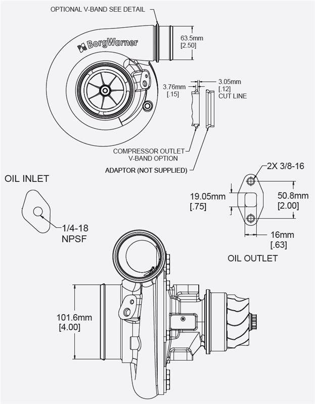 13009097047 - borgwarner airwerks turbo