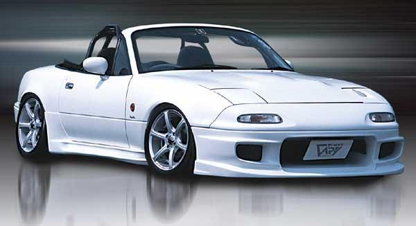 Gv Skirt Type N Garage Vary Side Skirts Miataroadster