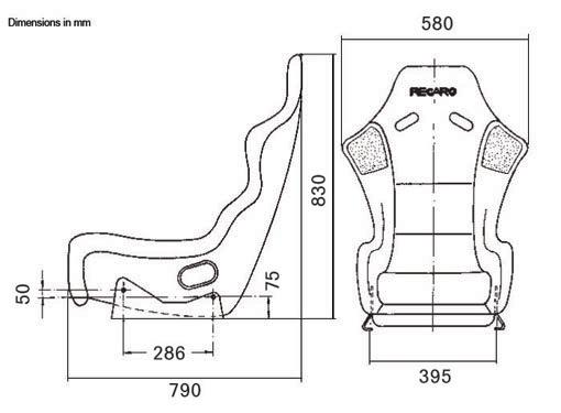 Recaro racing seat profi spa for 3 dimensions salon