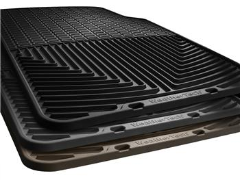 WTCG271150 Floor Mat Front//Rear Gray WeatherTech Rubber