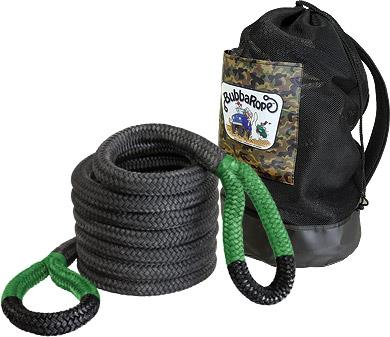 "Bubba Rope Renegade Recovery Rope Gray 3//4/"" x 20/' Breaking Strength 19,000 lbs"
