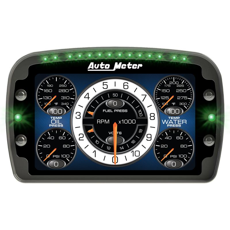Universal Auto Gauges : Auto meter lcd digital dash universal moddiction