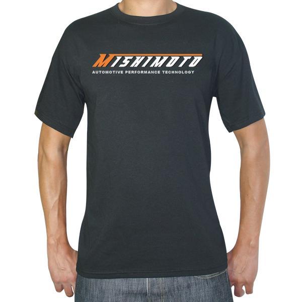 Small MMAPL-SCRIPT-BKS Mishimoto Mens Athletic Script T-Shirt Black